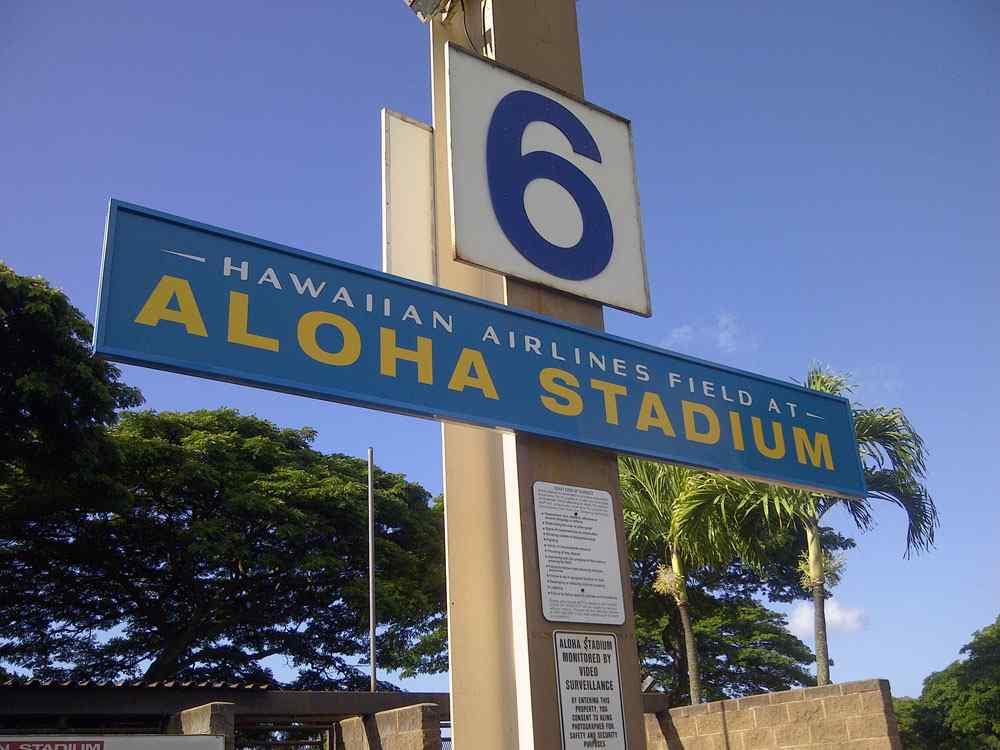 Hawaiian Airlines Field at Aloha Stadium | Peterson Sign Company